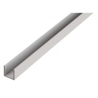 """Profil aluminiu forma """"U"""",Ø 20 - 25- 30 ,1000 mm"""
