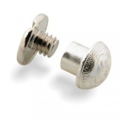 7400-01 Suruburi decorative placate cu argint, 5 mm