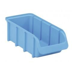 Cutie organizare/depozitare 100 mm x 75 mm x 215 mm, albastru