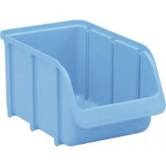 Cutie organizare/depozitare 145x125x240 mm, albastru