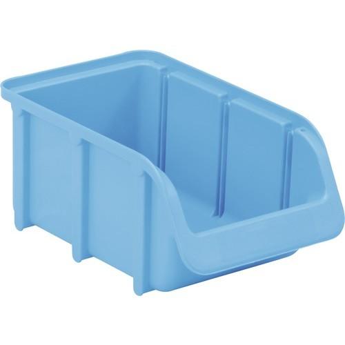 Cutie organizare/depozitare 100 mm x 75 mm x 165 mm, albastru