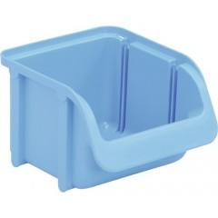 Cutie organizare/depozitare 100 mm x 75 mm x 115 mm, albastru