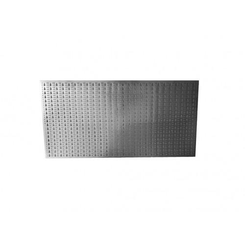 Panou perforat orizontal din INOX, 1000x500mm