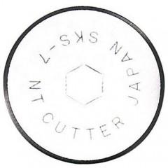Set 2 lame cutter disc Ø28mm, NT Cutter.