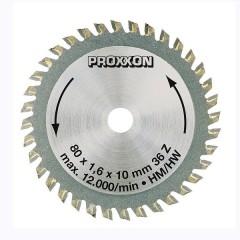 28732 Disc taiere cu insertii de tungsten Proxxon