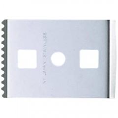 Set 2 lame inox razuitor cu zimti 36mm -NT Cutter.