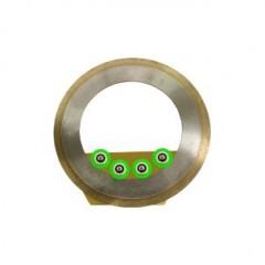 Cartus lama diamantata sinterizata rigida pentru circular sticla/vitralii/ceramica/piatra groasa Apollo