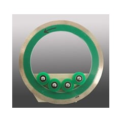 Cartus lama diamantata sinterizata fina rigida pentru circular sticla/vitralii Apollo