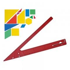 Echer reglabil taiere si marcare sticla/ vitralii Rulex.
