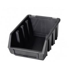 Cutie organizare/depozitare SMART, negru, 161 x 116 x 75 mm