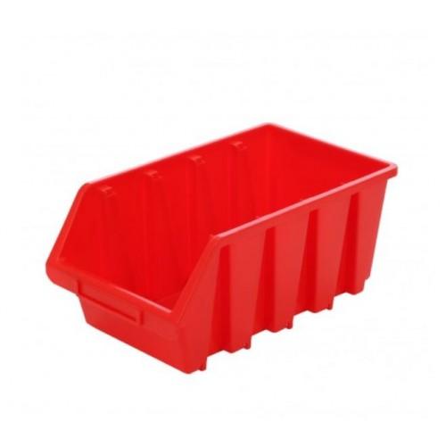 Cutie organizare/depozitare SMART, rosu, 340 x 204 x 155 mm
