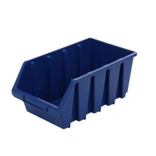 Cutie organizare/depozitare SMART, albastru, 340 x 204 x 155 mm