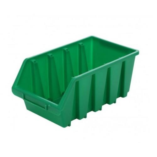 Cutie organizare/depozitare SMART, verde, 340 x 204 x 155 mm