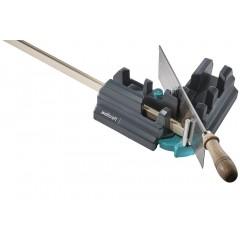 Echer reglabil și dispozitiv de ghidare pentru tăiere parchet si plinte Wolfcraft. 70mm