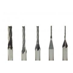 Freza cu dinti din carbura metalica pt modelism 0.8-2.65mm