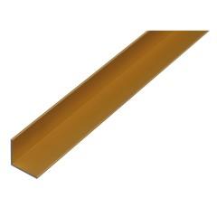 Profil L frezat din alama, 500mm