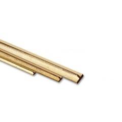 Profil T din alama frezata, 500mm
