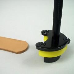 Preducea rotunda de capat pt curele piele max 42mm latime