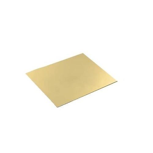 2700 /02 Foaie de tabla de alama pentru modelism 0,2 x 220x170mm
