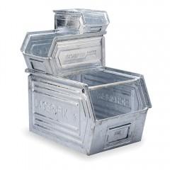 Cutie depozitare metalica vopsita/zincata -353x200x145mm