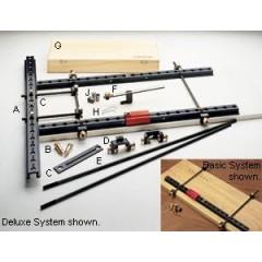 """Șină 25"""" cu două șuruburi de fixare din aramă, Veritas Tools"""