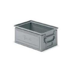 Cutie depozitare metalica, cu manere, vopsita/zincata 450x300x200 mm