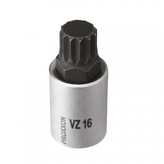 "Cheie spline, VZ16, XZN16, M16, 1/2"", lungime 55mm, Proxxon"