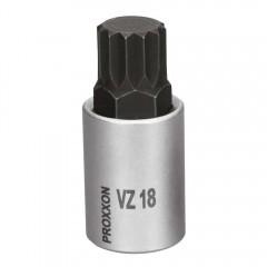 "Cheie spline, VZ18, XZN18, M18, Proxxon, 1/2"", lungime 55mm"