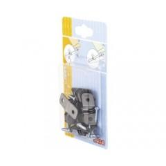 Set accesorii Dolle Duofix de fixat polite de sticla/lemn, prindere pe suporti
