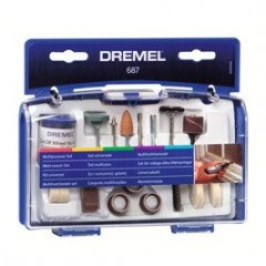 687 Set 52 accesorii multifunctional pt modelism, Dremel