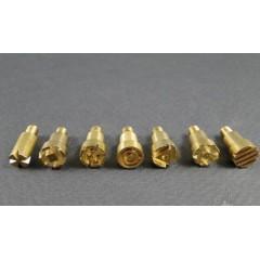 Set varfuri tip stampila pentru aparatul de pirogravura CFH, 7 piese
