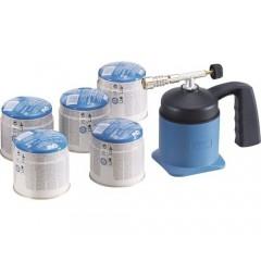 Lampa de lipit cu gaz LM1000, include 5 butelii