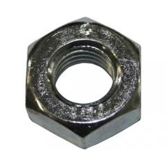 Piulite hexagonale simple M3-M20 DIN934 otel zincat, 10 bucati
