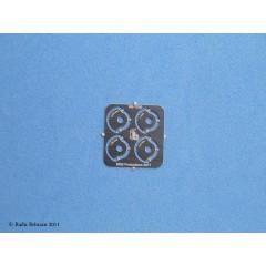 RB-T030 Roti imitatie nituri pentru colturi, numai pt Rivet-R MI