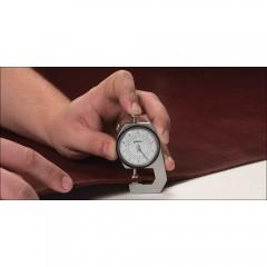 Instrument pentru masurat grosimea pielii, Tandy Leather
