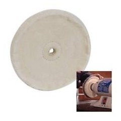 HOBBS 0150 Disc bumbac slefuire cu sisal Ø 150 x 20mm
