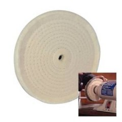 HOBBS 0250 Disc bumbac slefuire cu sisal Ø 250 x 20mm