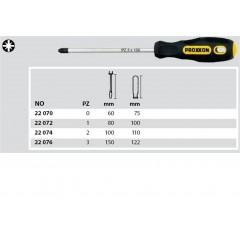 Proxxon 22070 - Surubelnita cap cruce PZ 0
