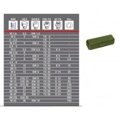 23343 Surubelnita dinamometrica 0.4-2Nm MC2, Proxxon