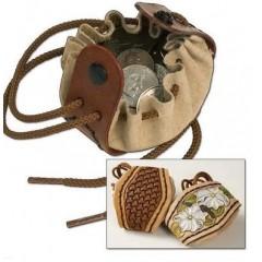 Kit geanta pentru monede cu snur Tandy Leather