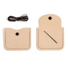 Kit geanta mica pentru monede Tandy Leather