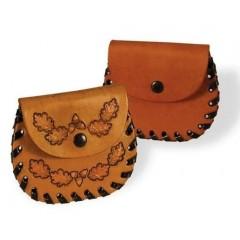 Kit portofel de buzunar pentru monede Tandy Leather