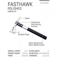 Topor SOG FASTHAWK - POLISHED F06PN-CP