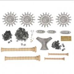 Navomodel ROBERT E. LEE - Set decoratii din metal turnat