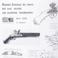 1210 Plan Pistol Pocket, Amati