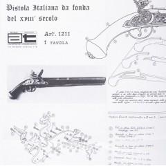 1211 Plan Pistol Gun Rests, Amati