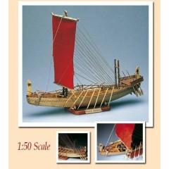 1003 Planuri constructie navomodel Amati Nava Egipteana