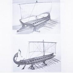 1004 Planuri constructie navomodel Amati Birema Greceasca
