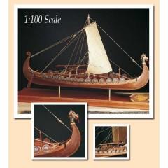 1006/01 Planuri constructie navomodel Amati Drakkar Viking