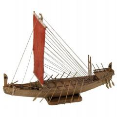 1403 Nava Egipteana - Perioada regelui Sahure, Navomodel Amati, Scara 1:50 - Lungime 35cm